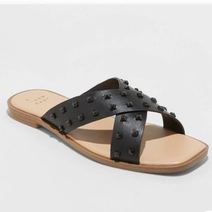A New Day Emmy studded sandals